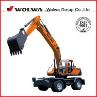 new Shan dong wheel excavator with reasonable price from wolwa for sale