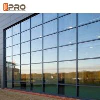 Hidden Framing Coated Glass Curtain Wall System For Exterior High Buildings