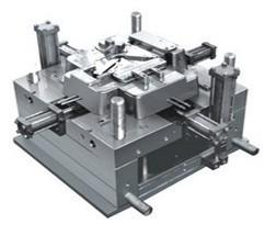 China P20 Mold Base , 4 Cavities Precise Plastic Mold With Hot Runner , Injection Plastic Mold on sale