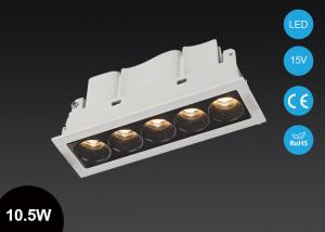 China 10.5W Multi Lamps Square LED Recessed Downlight  Spot Housing LED Ceiling Fixture on sale