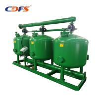 China High Flow Rate Automatic Sand Filter 24 - 48 Inch Tank Size Stainless Steel Material on sale