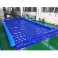 Auto Washing Tool Inflatable Water Containment Mat / Inflatable Car Wash Mat