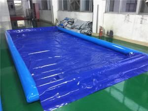 China Durable Inflatable Car Wash Mat / Auto Washing Tool Inflatable Water Containment Mat on sale