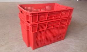 China Steam Heating Automatic Plastic Crate Washer With Siemens Motor on sale