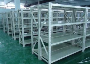China Warehouse Steel Storage Shelves , Adjustable Pallet Storage Racks on sale