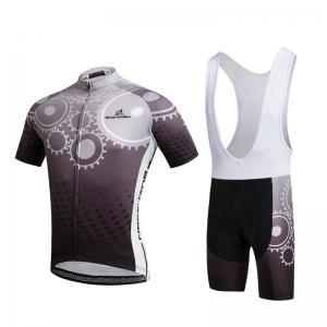 China Customized Cycling Jersey Suit , Mens Cycling Clothing Pants / Bibs Multi Size on sale