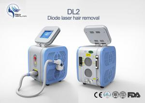 China Fast Professional Portable 808nm Diode Laser Permanent Hair Removal Machine Painless on sale