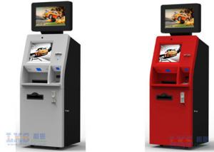 China Cash Dispenser , Card Reader Bank ATM Machines Stainless Steel Kiosk With Keyboard on sale