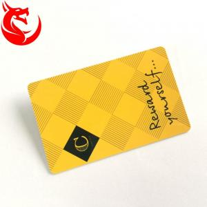 China Gold Read Write Metal Wallet Card High Glossy Hot Stamping Or Magnetic Stripe on sale
