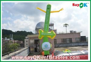 China Logo Printing Inflatable Sky Dancer Twin Legs For Festival Celebration on sale
