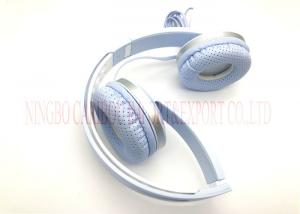 China Stylish 3D Foldable Over Ear Headphones / Foldable Bluetooth Headset With Mic on sale