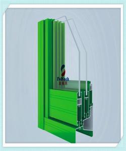 China 6063 T5/T6/T8 Window Aluminum Profile , ordinary doors and Windows on sale