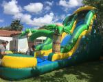 Backyard Water Park Commercial Bounce House Water Slide