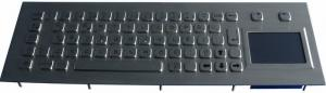 China Portable 2.4G Flexible Desktop Silicon Industrial Wired Keyboard With Touchpad on sale