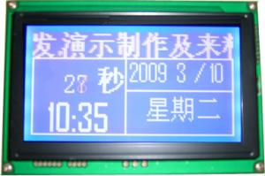 China electronic pos machine  Monochrome LCD Display 128x64 on sale