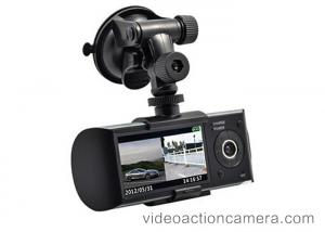China High Redolution Car GPS Video Recorder 2560*1920 With SD/TF CARD Storage on sale