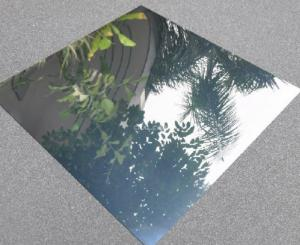 Quality Laminate Mirror Finish Aluminium Sheet Highly Reflective Washable For Lighting for sale