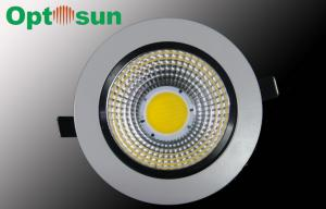 China 13W Warm White 1150lm Dimmable LED Downlights / 115mm Adjustable LED Down Light on sale