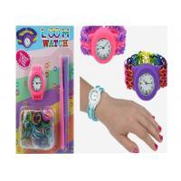 Rainbow Loom Bandz Watch Silicone Wristband Bracelet DIY Loom Watch