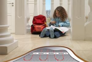 China Electric underfloor heating mat on sale