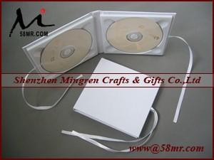 China Double Cotton Fabric Linen CD DVD Cover on sale