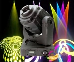 China 60W LED Stage Spot lights Gobo Moving Head Stage Lights For dance halls Disco on sale