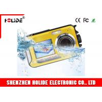 China 2.7 TFT Underwater Digital Video Recorder Camera 24MP Selfie Dual Screen Waterproof on sale