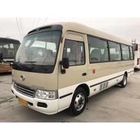 KINGLONG 22 Seats Used Passenger Bus With YC Diesel Engine 2014 Year Made
