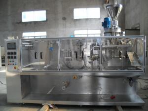 China Bag pouch Horizontal milk whey protein powder filling machine on sale