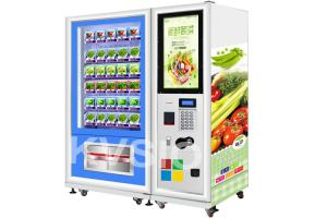 China Intelligent Refrigerated Auto Vending Machine For Shopping Mall / Convenient Store on sale