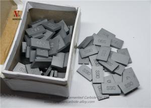 China YG8 YG9C YG11C Carbide Saw Tips , Cemented Carbide Inserts Corrosion Resistance on sale