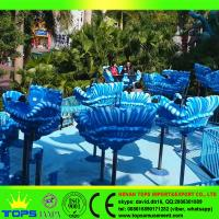 HENAN TOPS Children amusement rides fun park musical fountain rides