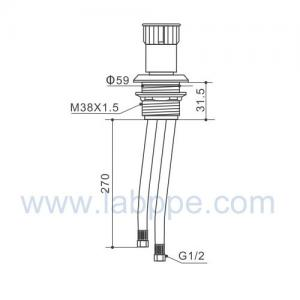 Quality SHA10B-Fume Hoods remote control valve,cold water for sale