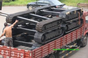 China steel track undercarriage on sale