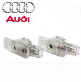 China LED 3D Logo Laser Car Door Light Special for Audi (No drilling/Plug & Play) on sale