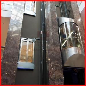 China Load 800kg and 1.0m/s Spedd 4 Sides Opening Sightseeing Passenger Elevator on sale