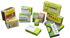 China Colorful Printing medicine pill boxes / child proof medicine box on sale