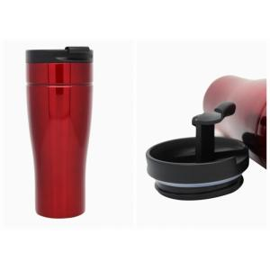 China 16oz Insulated Reusable Travel Coffee CupsWith Suction Bottom , To Go Coffee Tumbler on sale