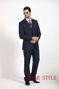China Italian fashion style slim fit smart TR business suits for men on sale