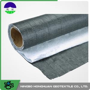 China River Bank Woven Geotextile Fabric With PVC Geomembrane Composite 6m on sale