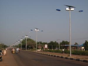China solar led garden light on sale