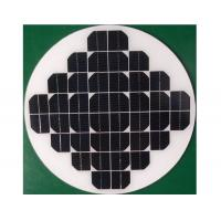 Water Pump System Round Solar Panel 3.2mm Thickness Low Iron Tempered Glass