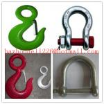 Safety Pin Anchor&Chain Shackle,Heavy shackle& shackle&chain