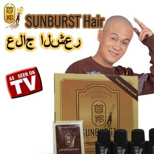 China Natural Herbal Sunburst Hair Growth Liquid For Hair Loss on sale