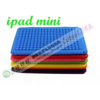 2013 fashion silicone cover for ipad mini with lego blocks design DIY puzzle