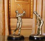 golf resin Figure sculpture craftwork Decoration