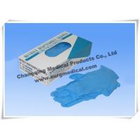 Blue Nitrile Medical Surgical Gloves AQL 1.5 4 mil Powder Free