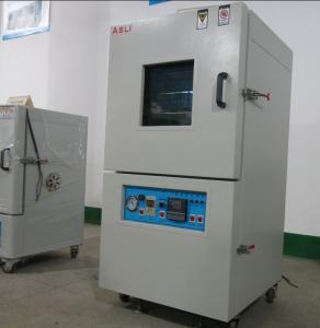 China Cámara de vacío heated da alta temperatura del micrófono del polvo de 500 DEG C del control revestido del PID on sale