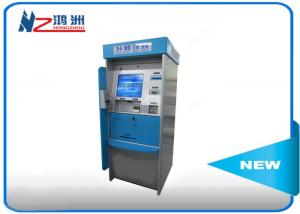 China High Brightness Card Dispenser Kiosk With ID Card Scan Issuing For Hotel Check In on sale