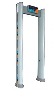 China Microprocessor Controlled Cylindrical Walkthrough Metal Detector Applied In Airports Etc on sale